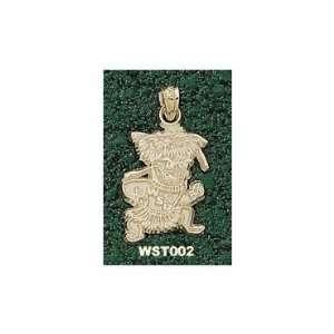 Wichita State Shockers Solid 10K Gold Classic Mascot