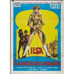 Ilsa, Harem Keeper of the Oil Sheiks Poster Movie Italian