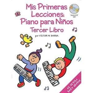 Piano Para Nios (ercer Libro) (9780825628917) Vicor Barba Books