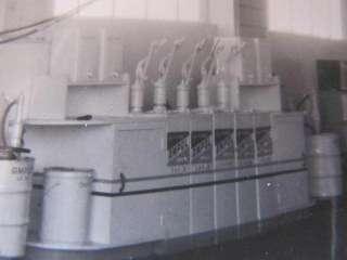 Service Station Ampol Oil Drum Dispensers Photograph