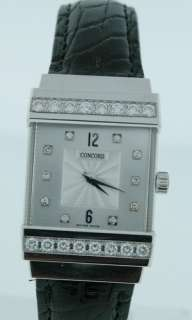 Concord Crystale, NEW 18k White Gold, Diamond Watch!!