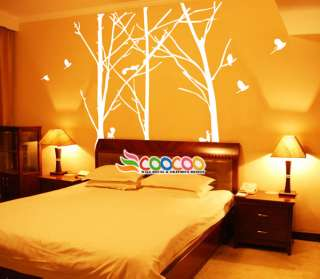 Wall Decor Decal Sticker Mural Removable Staggered Branch Tree Trunk