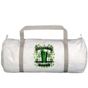 Gym Bag Shamrock Pub Luck of the Irish 1759 St Patricks Day Four Leaf