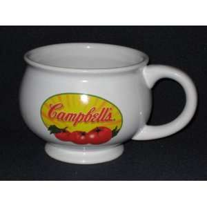 Large Porcelain Campbells Soup Handled Soup Mug: Everything Else