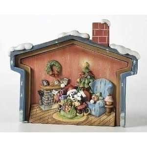 Pack of 2 Disney Mickey Mouse Christmas House Puzzle