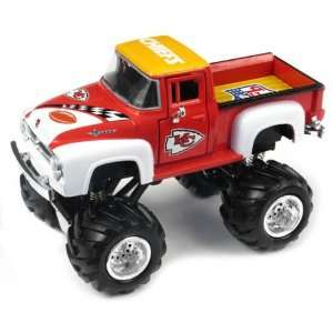 Kansas City Chiefs 1956 Ford Monster Truck Sports & Outdoors