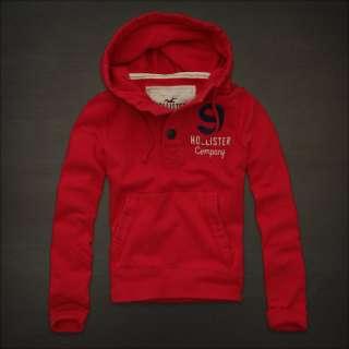 NWT HOLLISTER Abercrombie SEASIDE REEF Mens Sweatshirt Fleece Hoodie S