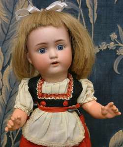12 ABG 1362 ANTIQUE German DOLL All Original Costume PERFECT!