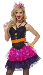 Retro 80s Party Pop Star Madonna Halloween Costume 091346326381