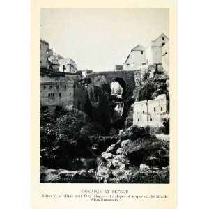 1929 Print Sefrou Fez Middle Atlas Mountains Morocco