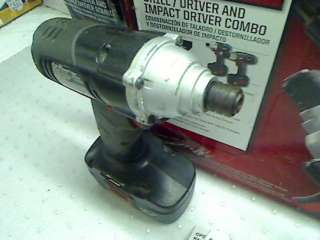 CRAFTSMAN 19.2 VOLT DRILL DRIVER 11551 IMPACT DRIVER 11483 TADD