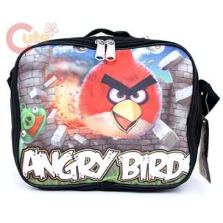 Angry Birds Red Bird School Lunch Bag /Insulated Box