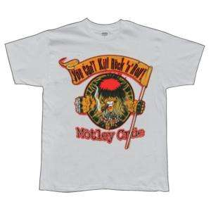 Motley Crue   Cigar T Shirt   X Large