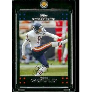 Topps Football # 220 Robbie Gould   Chicago Bears   NFL Trading Cards