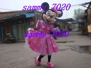 New adult minnie mouse mascot Costume