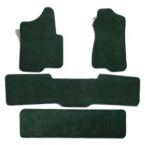 Carpet Floor Mats for Ford Econoline Van (Premium Nylon, Evergreen