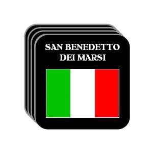 Italy   SAN BENEDETTO DEI MARSI Set of 4 Mini Mousepad