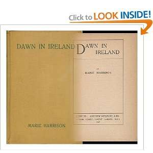 Dawn in Ireland: Marie Harrison: Books