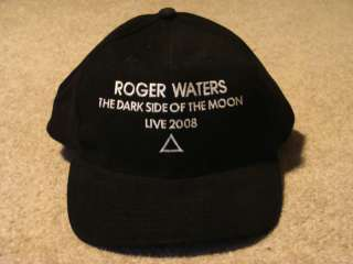 ROGER WATERS 2008 TOUR Dark Side CAP HAT NEW pink floyd