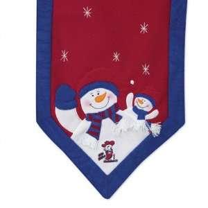 Mississippi Rebels Snowman Table Runner