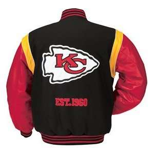NFL Kansas City Chiefs Leather Jacket **