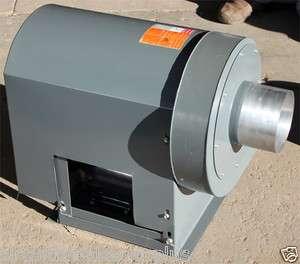 Dayton 4C129A High Pressure Radial Blade Belt Drive Blower