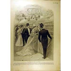 1905 Opera Noel Christmas Sabots French Print