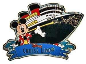 Disney Cruise Line Pin ~ Mickey Mouse & Ship DCL ~ RARE