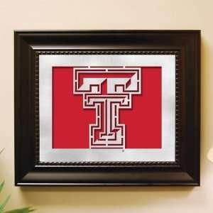 Texas Tech Red Raiders Framed Laser Cut Logo Wall Art
