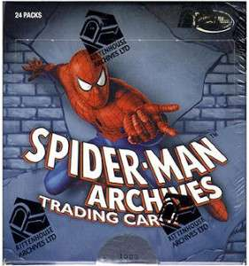 SciFiHobby SPIDER MAN ARCHIVES Trading Card SEALED BOX *NEW*