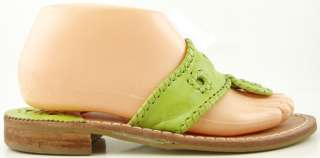 JACK ROGERS Palm Beach Lime Green Navajo Womens Designer Shoes Thongs