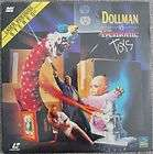 Dollman vs. Demonic Toys NEW Full Moon LaserDisc Cult S