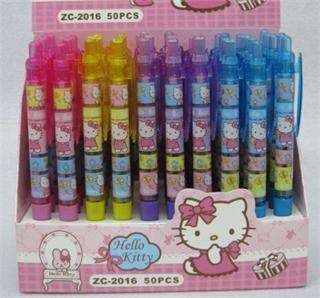 10PCS Wholesale New Fashion Cute Hello Kitty Beautiful Ball Point Pen
