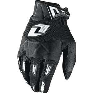 Mens Motocross/Off Road/Dirt Bike Motorcycle Gloves   Black / X Large
