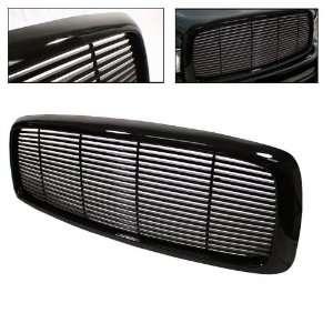 Dodge Ram 02 05 Front Grille   Black