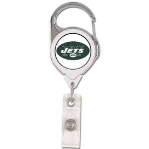 NFL New York Jets Premium Metal Badge Reel Sports