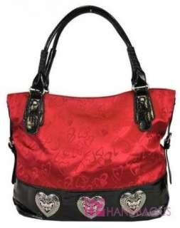 Print DIOPHY Jacquard Tote Purse Bag Handbag Wallet SET Red