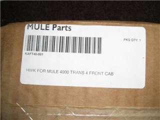 KAWASAKI MULE 4000/4010 OEM FRONT STEEL CAB KIT TRANS 4X4 KAF40T 001BA