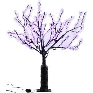 high Indoor/ outdoor LED Lighted Trees with 1920 LEDS, Multi color