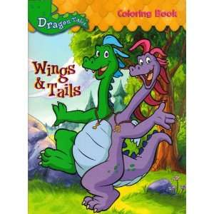 Dragon Tales Coloring Book Wings Tails