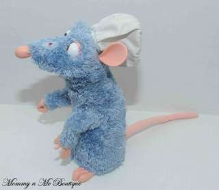 Disney Mattel Ratatouille Remy Interactive Talking Plush Toy HTF