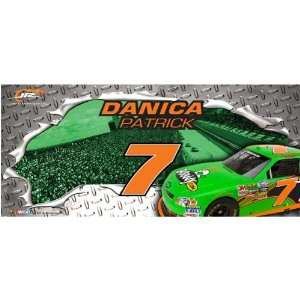 Danica Patrick 9.5 x 21.5 Horizontal Framed Panoramic