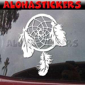 DREAMCATCHER Dream Catcher Vinyl Decal Car Sticker M154
