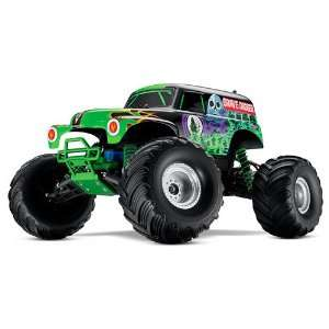Monster Jam Grave Digger with 7 Cell Battery and Charger Toys & Games