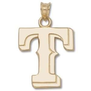 Texas Rangers 14K Gold Pendant