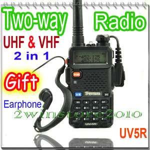 dual band UHF VHF Portable two Way radios Walkie Talkies UV5R FM CB