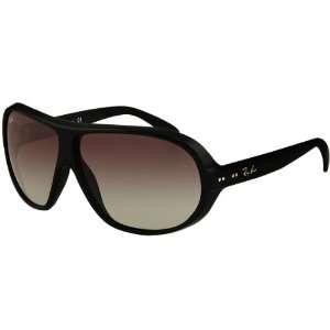 Ray Ban RB4129 Highstreet Sports Wear Sunglasses   Black/Grey Gradient