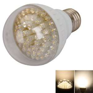 E27 3w 110v 60led Warm White Light LED Bulb Lamp