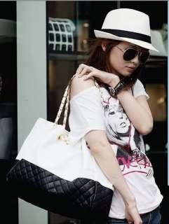LADY Hobo CASUAL PARTY SHOULDER BAG HANDBAG in 2 Colors E15