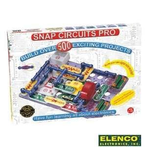 Elenco Electronics Snap Circuit Pro (SC500) Toys & Games